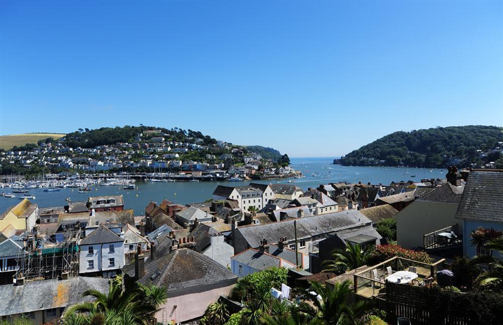 Incomparable views across to Kingswear from Onedin House at Onedin House in 11 Crowthers Hill, Dartmouth