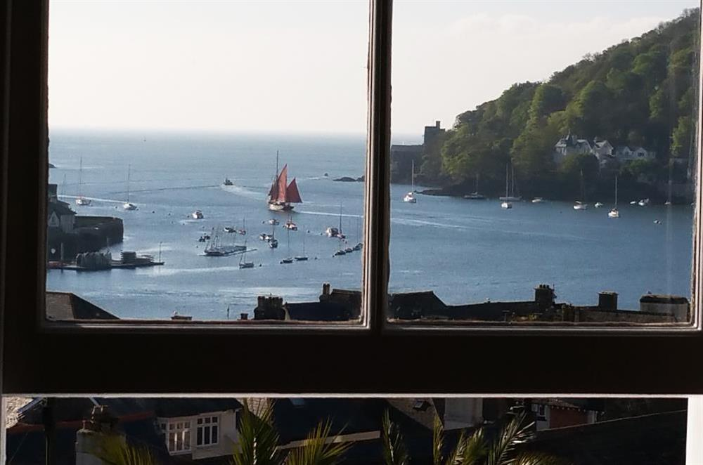 View from master bedroom window at Onedin House in 11 Crowthers Hill, Dartmouth