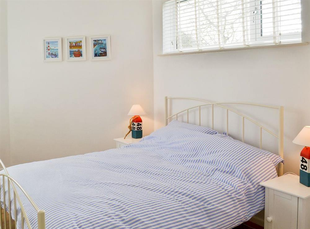 Double bedroom at Orchard Corner in Hickling, Norfolk