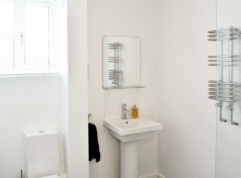 Ideal en-suite at Orchard Corner in Hickling, Norfolk
