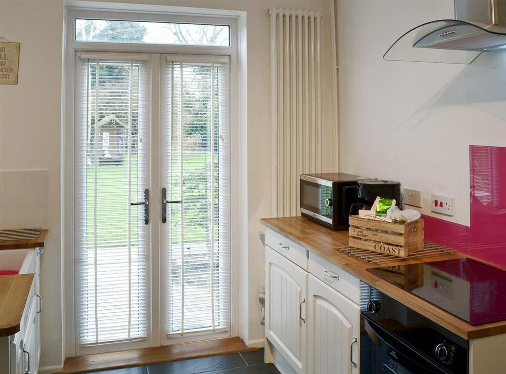 Kitchen at Orchard Corner in Hickling, Norfolk