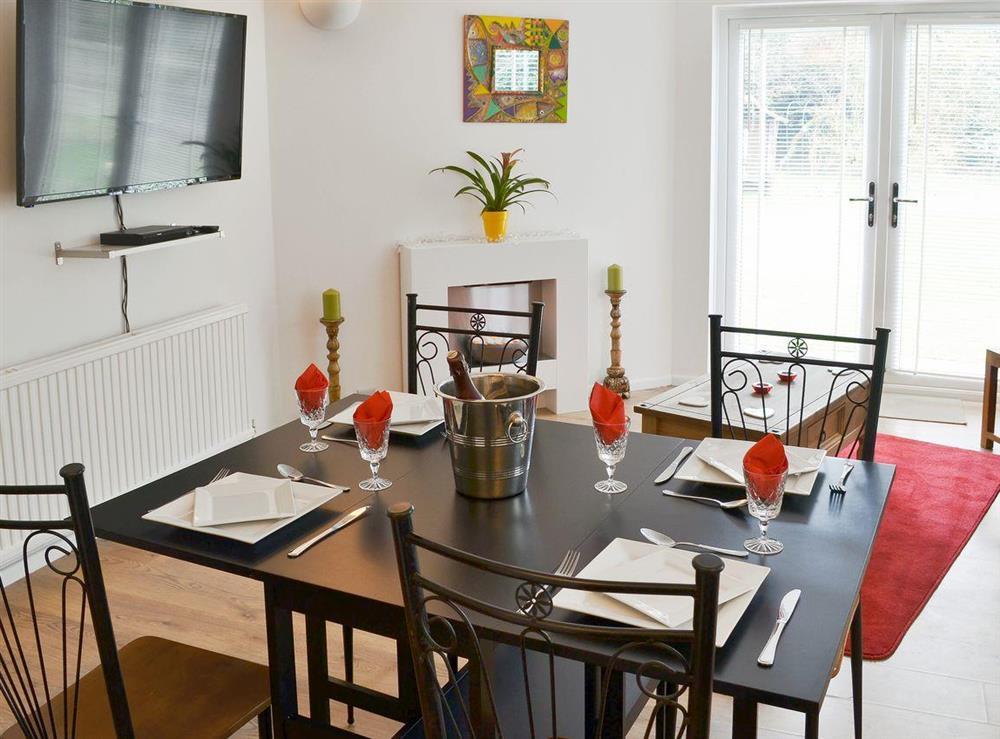 Living room/dining room at Orchard Corner in Hickling, Norfolk