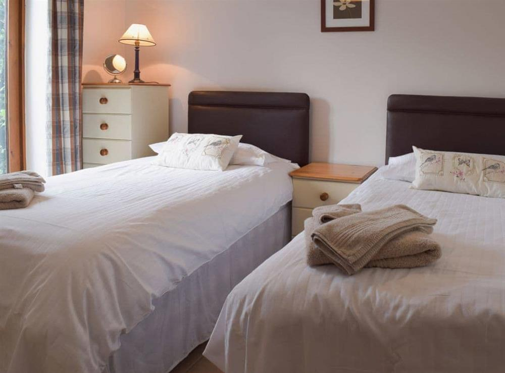 Twin bedroom at Oregano in Great Yarmouth, Norfolk