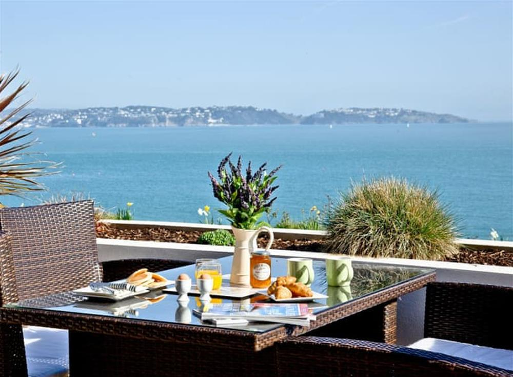 Balcony at The Cove,