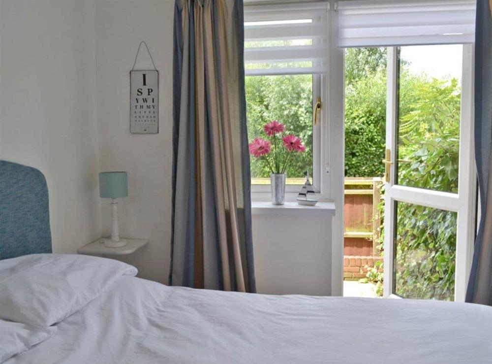 Double bedroom at Otters in Wroxham, Norfolk