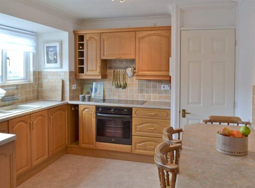 Kitchen at Otters in Wroxham, Norfolk