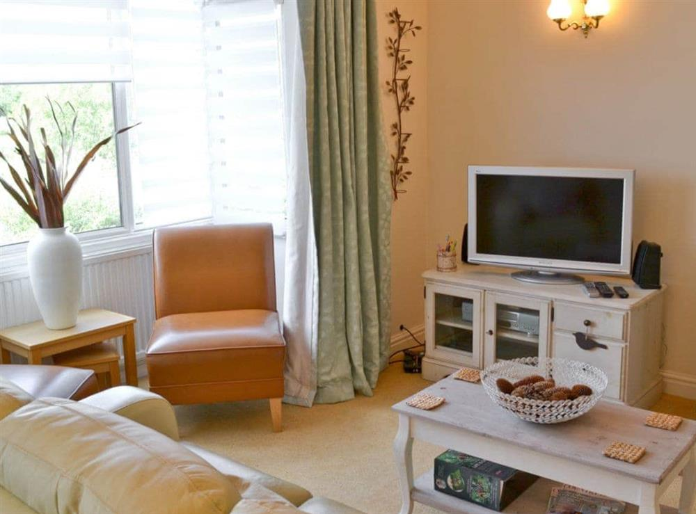 Living room at Otters in Wroxham, Norfolk
