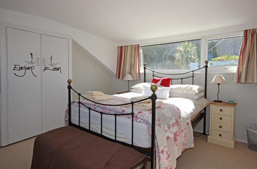 Double room at attic level at Out To Sea in 120 Above Town, Dartmouth