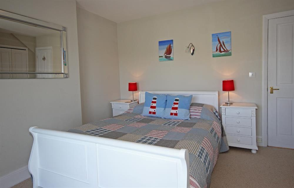 En suite bedroom at Out To Sea in 120 Above Town, Dartmouth