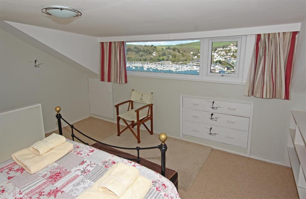 Lovely views from double bedroom at Out To Sea in 120 Above Town, Dartmouth