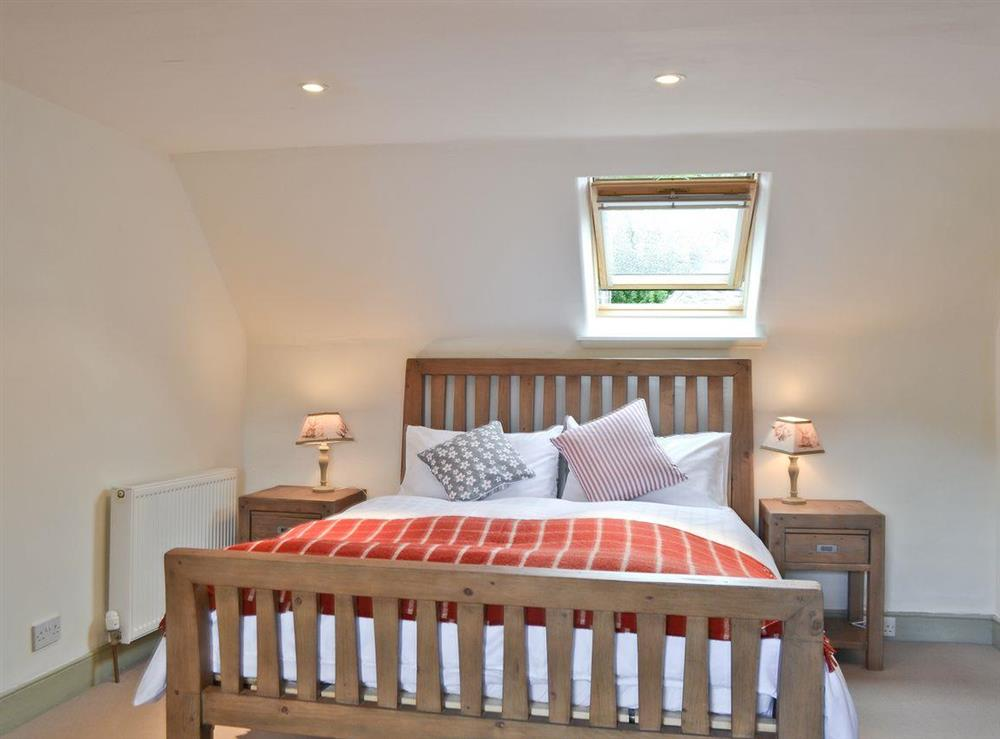 Double bedroom (photo 5) at Over Blairish Cottage in Keltneyburn, near Aberfeldy, Perthshire