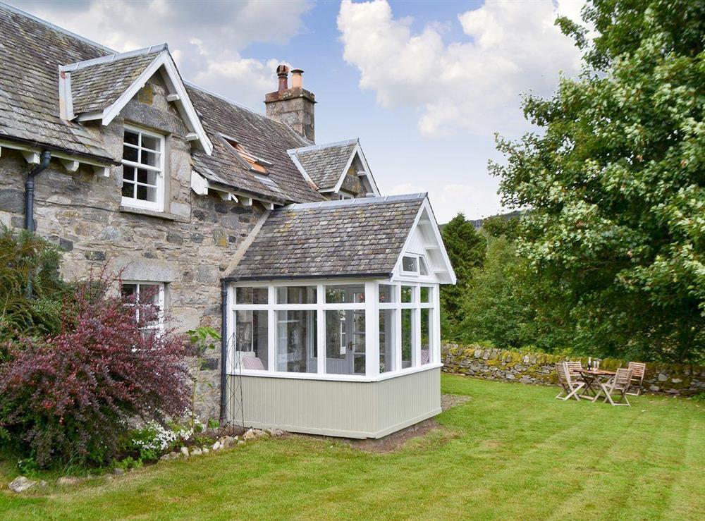 Exterior & garden at Over Blairish Cottage in Keltneyburn, near Aberfeldy, Perthshire