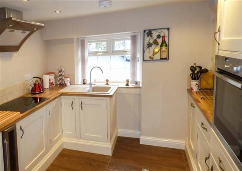 The kitchen at Owl Cottage, Haworth