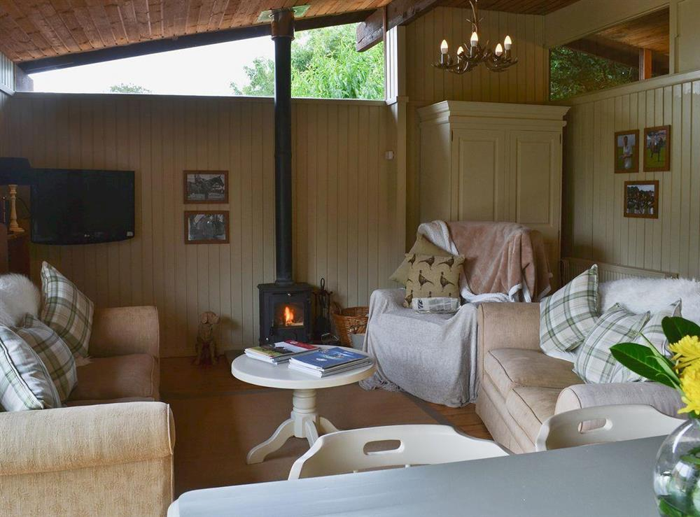 Lounge area at Pampita Lodge in Beverley, North Humberside