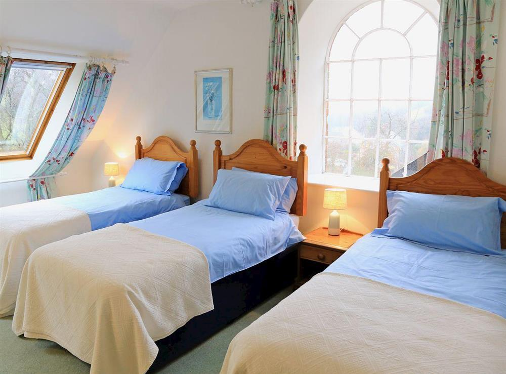 Bedroom at Papermaker's Cottage in Bow Creek, Nr Totnes, South Devon., Great Britain