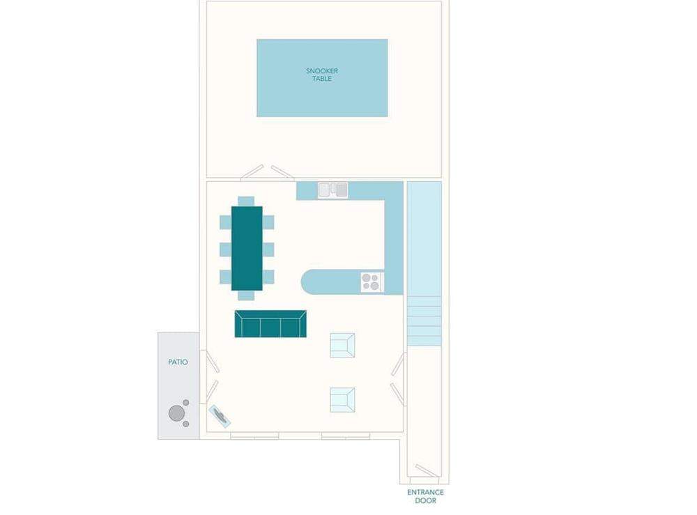 Papermaker's Cottage Floor Plan - Ground Floor