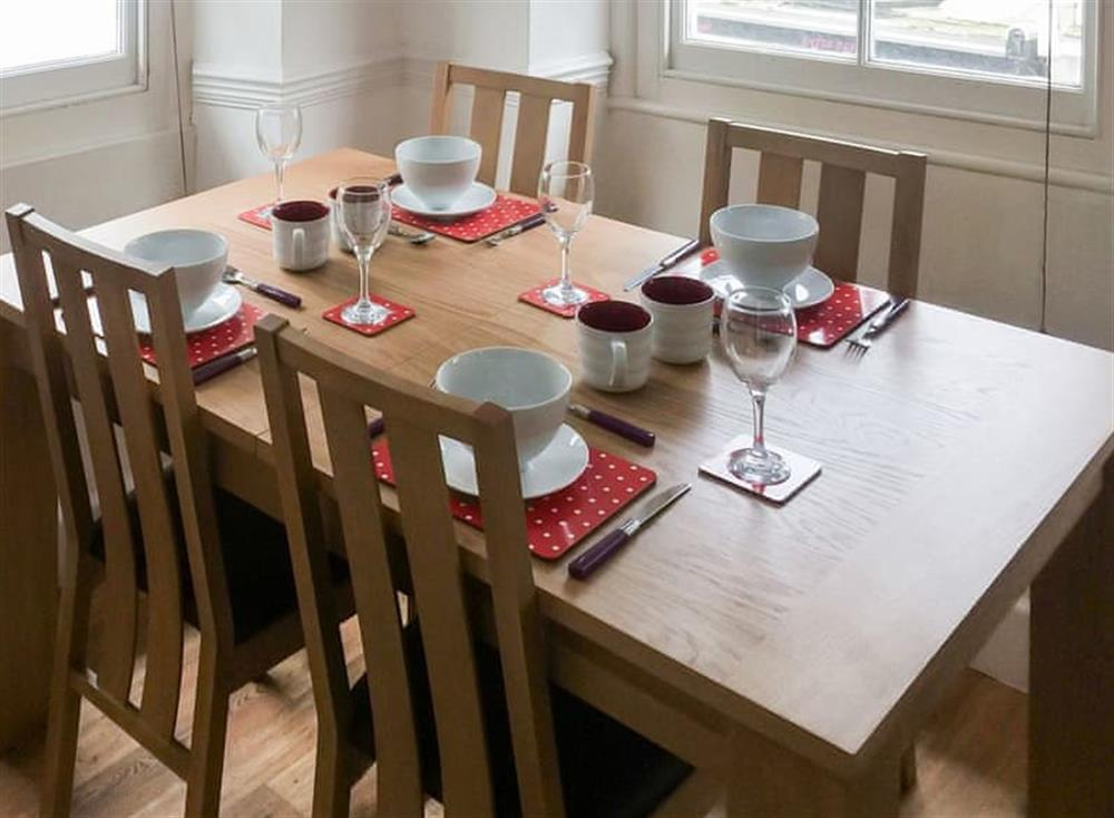 Stylish contemporary dining table and chairs