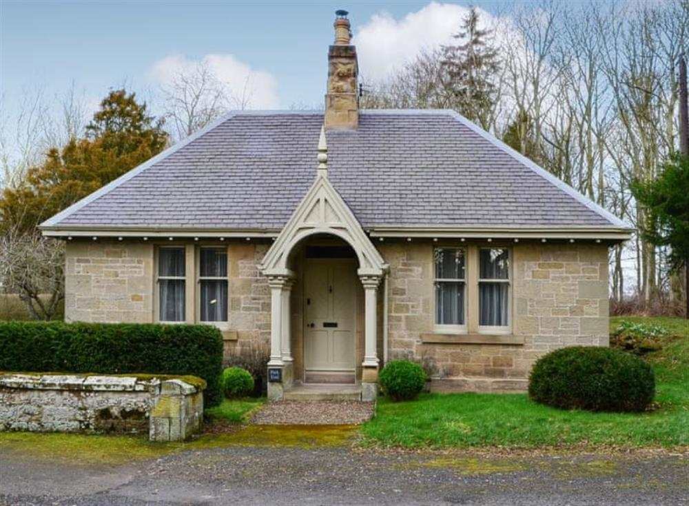Detached holiday property at Park End in Near Berwick-upon-Tweed, Berwickshire