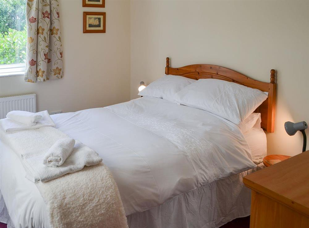 Cosy and inviting double bedroom at Park End in Walcott, near Stalham, Norfolk