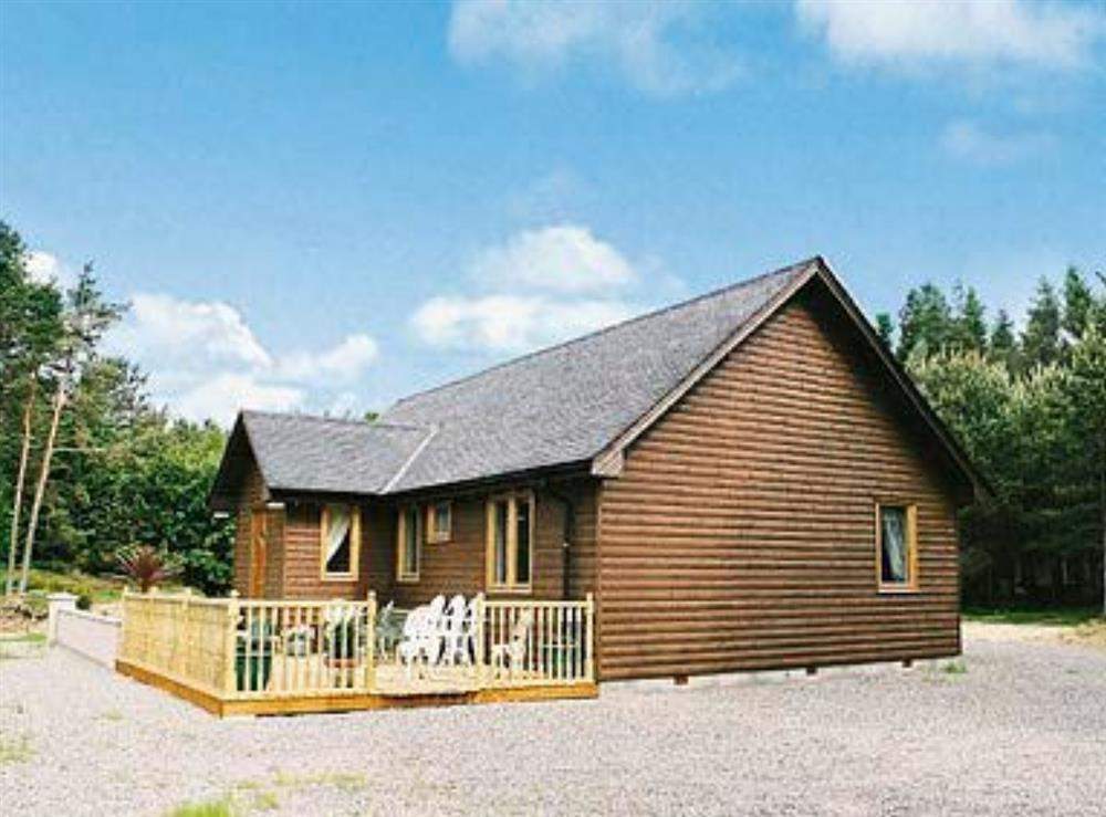 Exterior at Park Lodge in Strachan, near Banchory, Kincardineshire