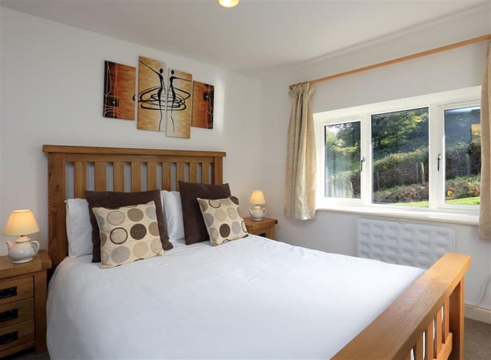 Double bedroom at Partridge Cottage in , Kingsbridge