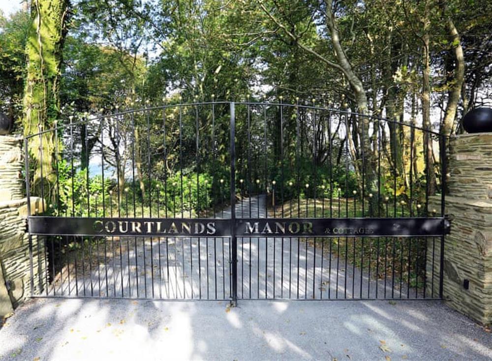 Entrance at Partridge Cottage in , Kingsbridge