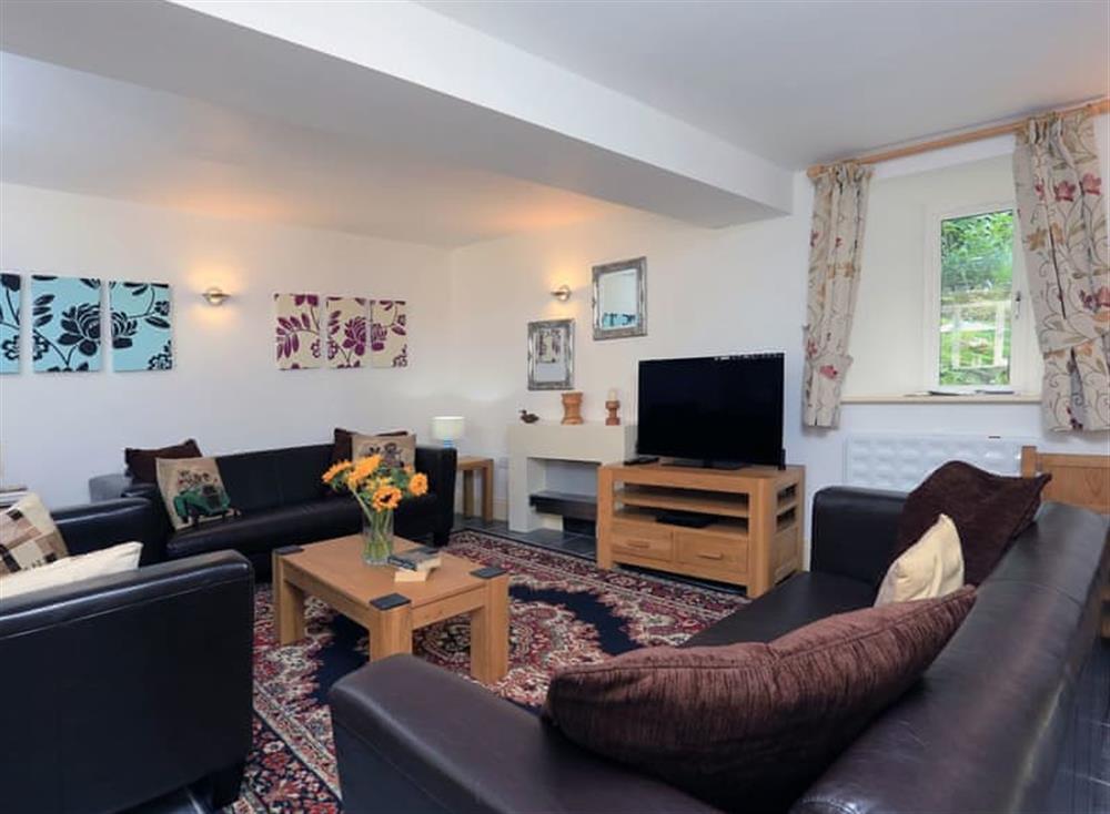 Living area at Partridge Cottage in , Kingsbridge