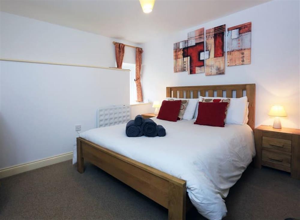 Master bedroom at Partridge Cottage in , Kingsbridge