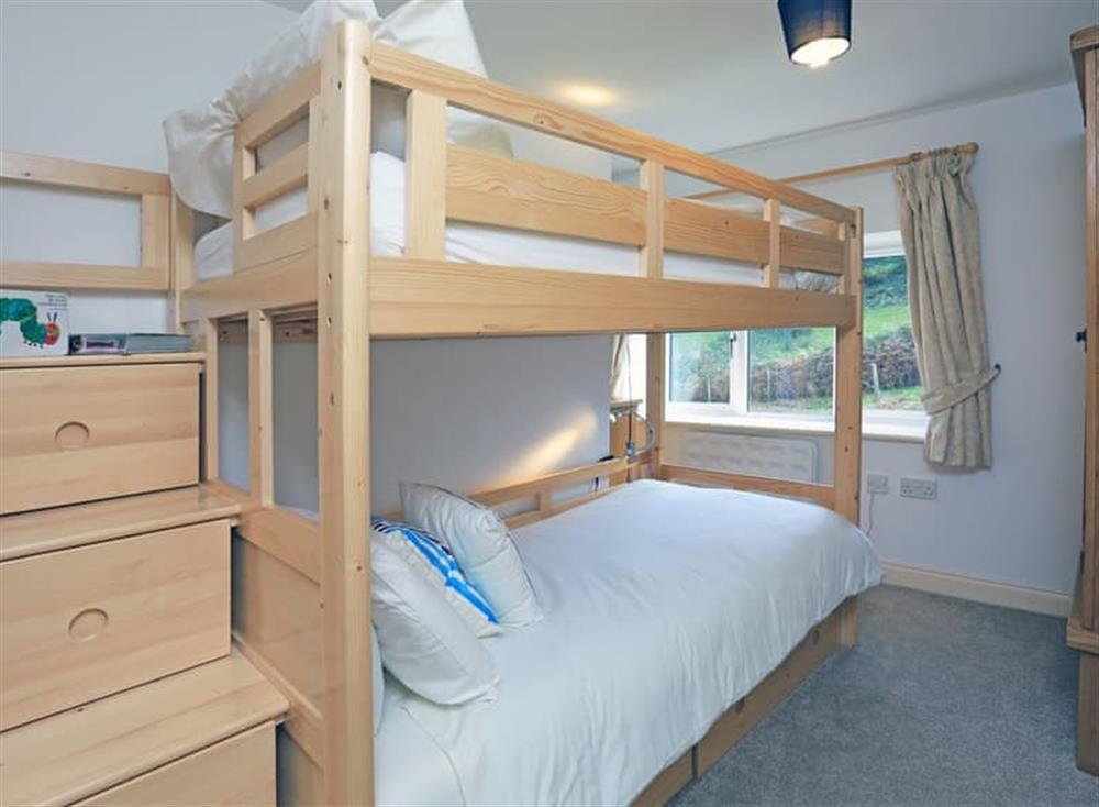 Twin bedroom at Partridge Cottage in , Kingsbridge