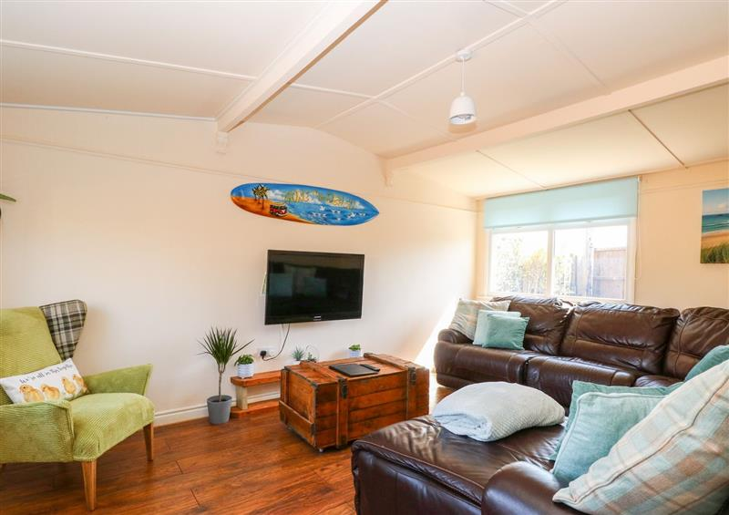 This is the living room at Paston Lodge, Bacton