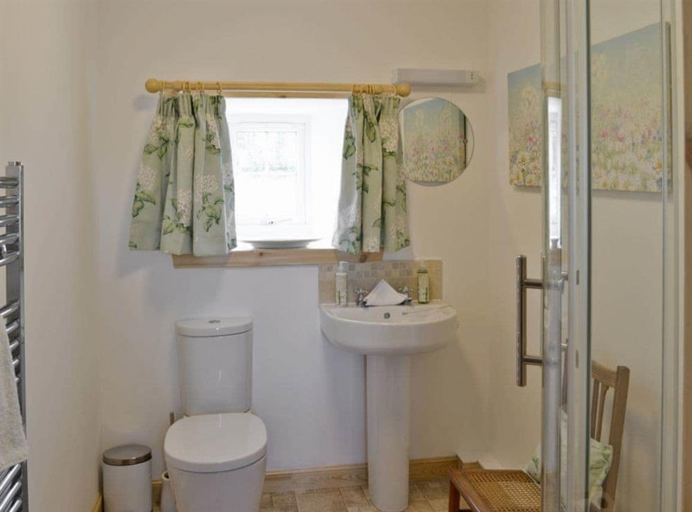 Bathroom at Paterson Cottage in Muir of Ord, Ross-Shire