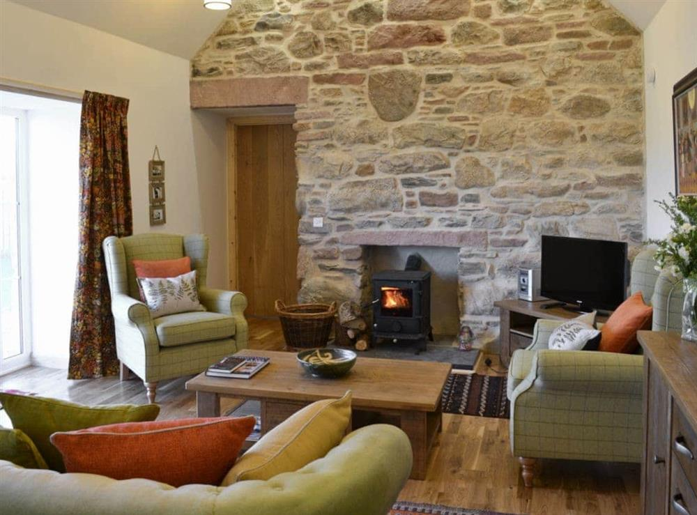 Living room at Paterson Cottage in Muir of Ord, Ross-Shire