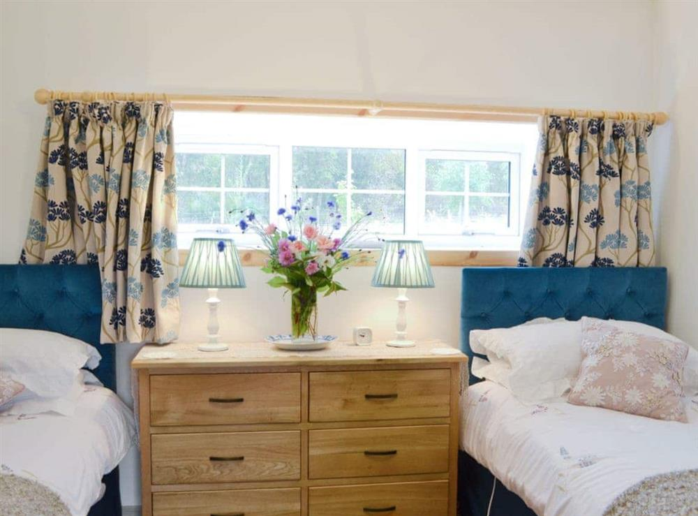 Twin bedroom at Paterson Cottage in Muir of Ord, Ross-Shire