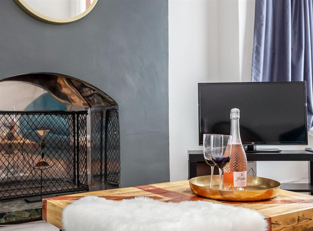 Living area at Elegant house,