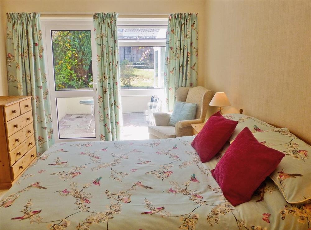 Double bedroom at Tawelwch,