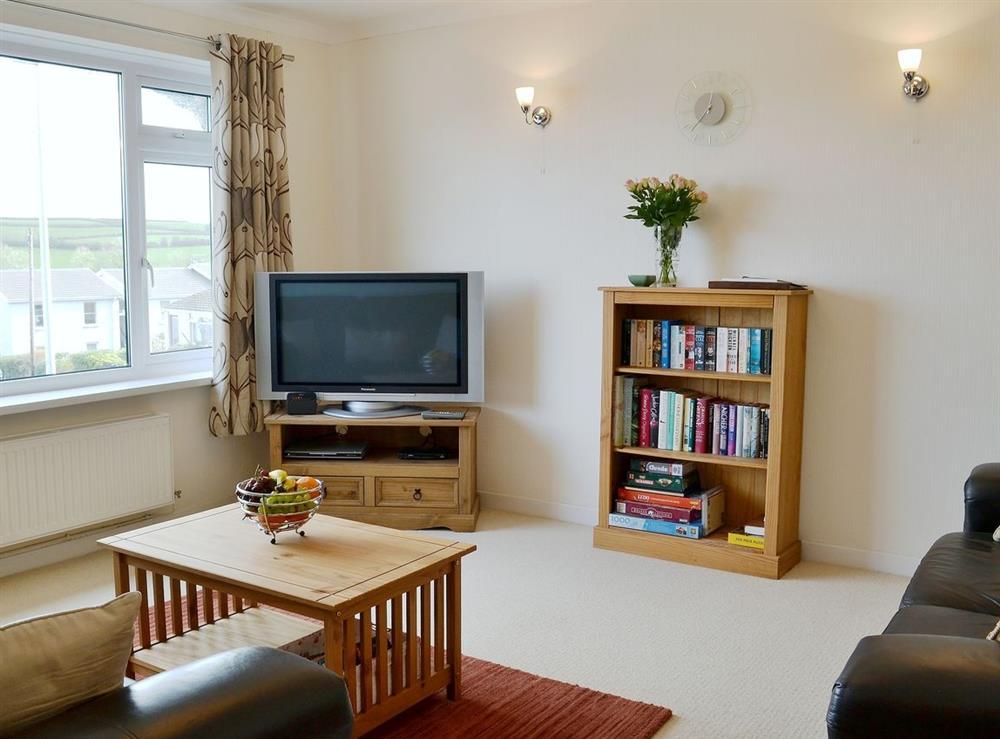 Living room at Tawelwch,