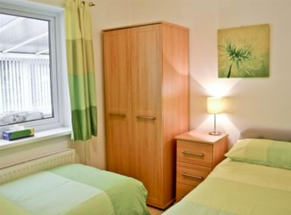 Twin bedroom at Tawelwch,