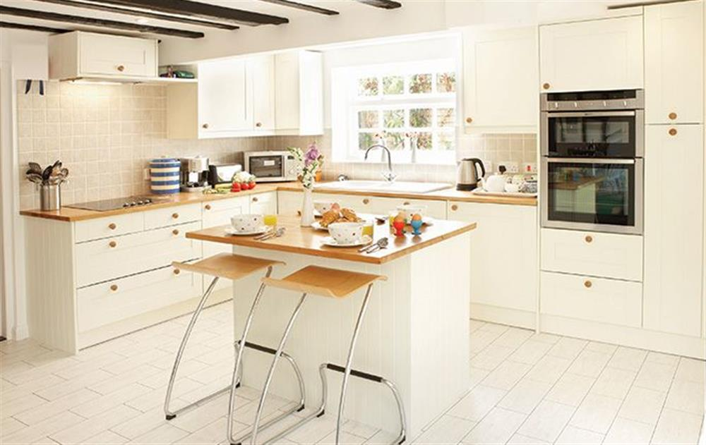 Ground floor:  Kitchen at Peak Hill Cottage, Theberton