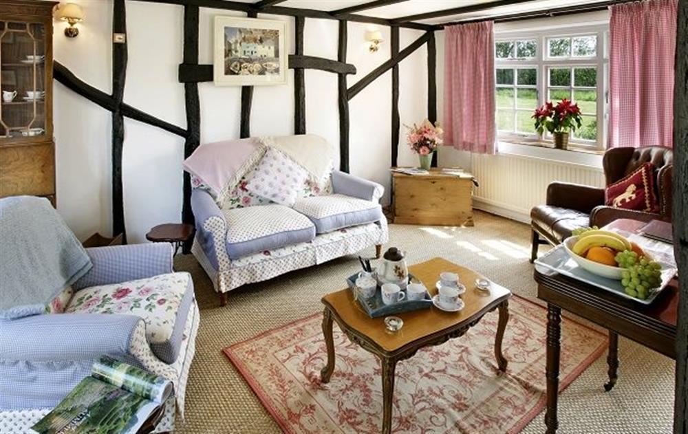 Ground floor:  Second sitting room  at Peak Hill Cottage, Theberton