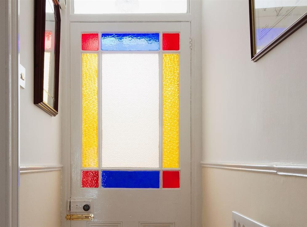 Hallway at Pebble Cottage in Dartmouth, Devon