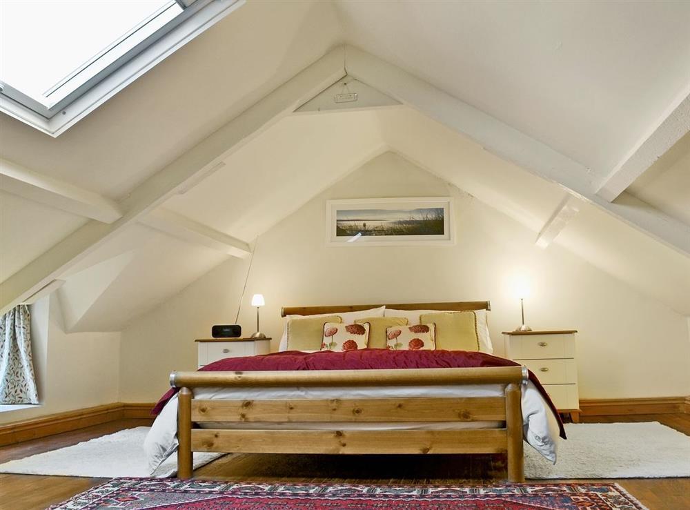 Double bedroom at Pennant Cottage in St Dogmaels, Dyfed