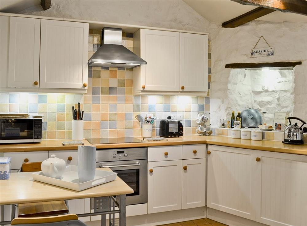 Kitchen at Pennant Cottage in St Dogmaels, Dyfed