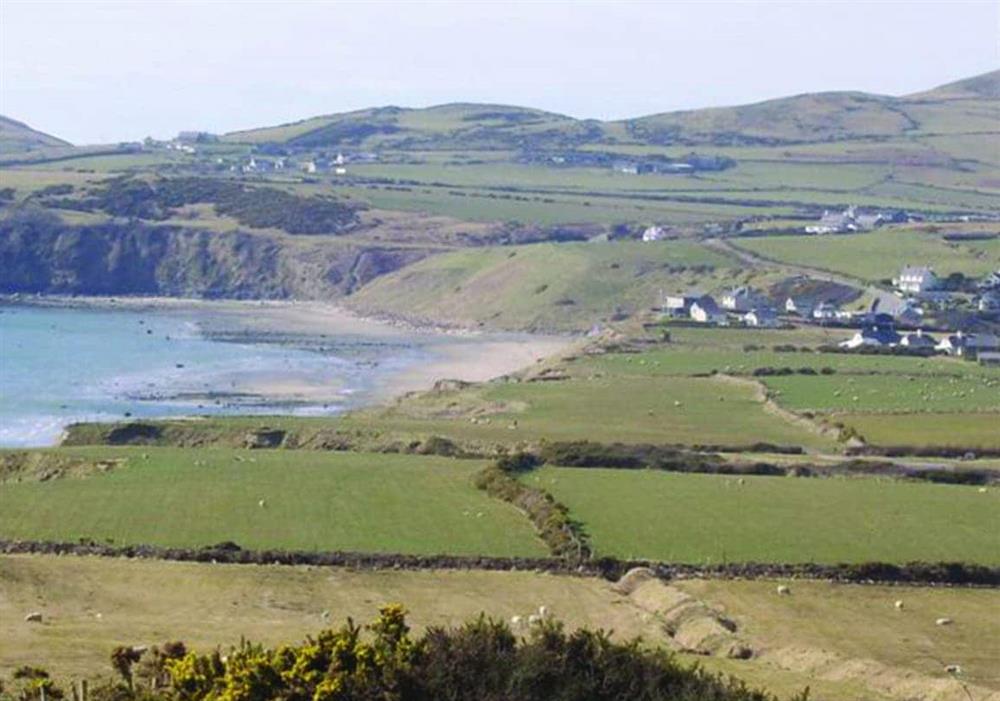Views from Penrhyn Mawr at Penrhyn Mawr in Pwllheli, Gwynedd