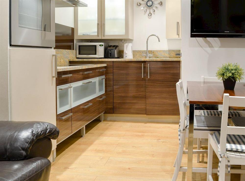 Well presented open plan living space at Fig Tree Cottage,