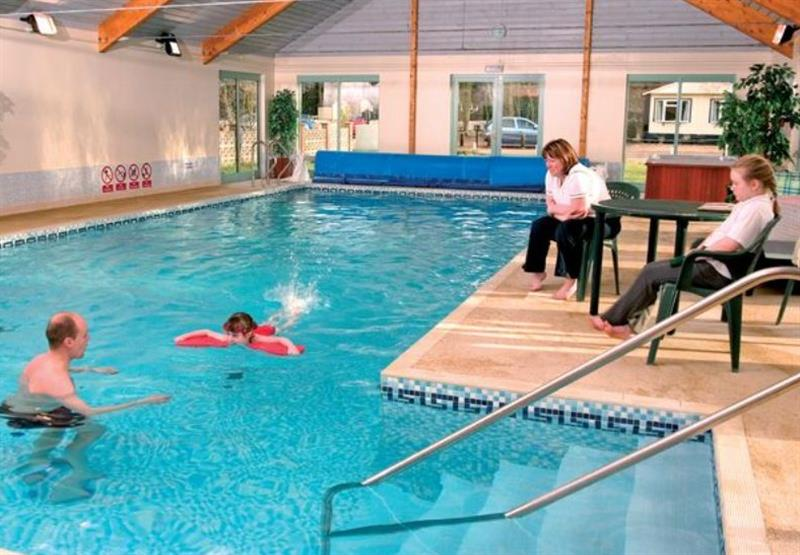 Indoor heated swimming pool at Pentney Park in Norfolk, East of England
