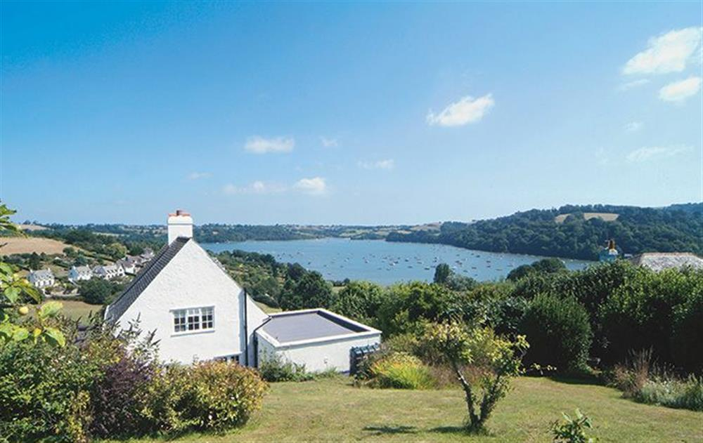 Penveron is a detached cottage with stunning views over the Dart Estuary at Penveron, Dittisham