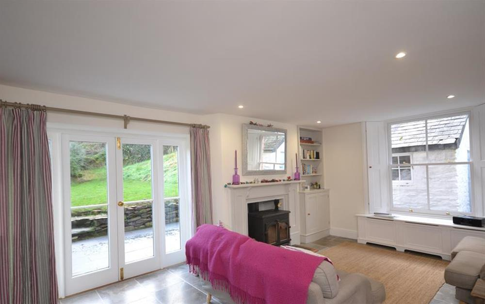 The beautifully furnished lounge at Perchwood Cottage, Tuckenhay