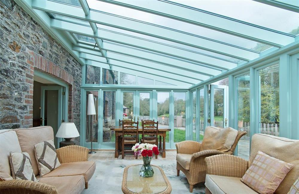Another view of the conservatory.   at Perchwood Shippon, Tuckenhay