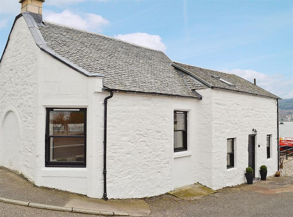 Exterior at Pier Cottage in Kilmun, near Dunoon, Argyll