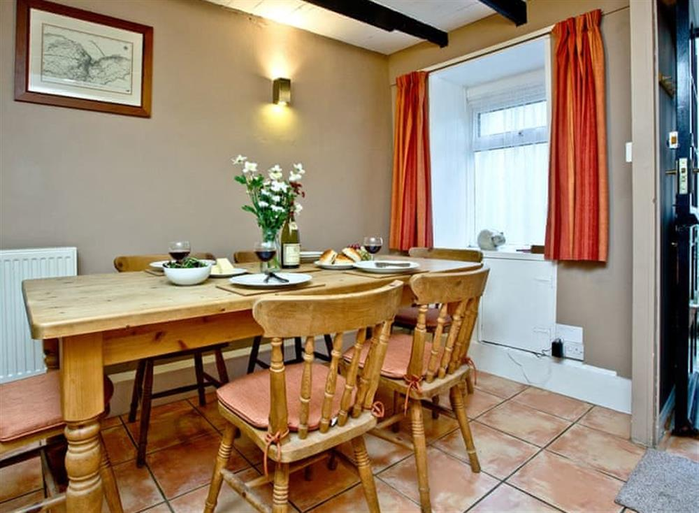 Dining Area (photo 2) at Pilgrims Cottage in Brixham, South Devon